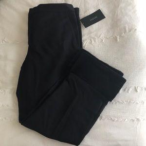 Zara Black Fur Laced Trousers